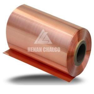 Tira de la bobina de aluminio revestido de cobre para componentes de la batería de litio