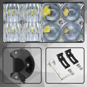 Großhandels12v 126W Selbst-LED Stab-Licht mit Objektiv 5D