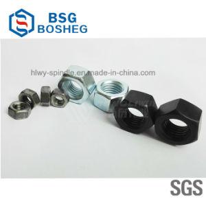 Les écrous hexagonaux en acier au carbone de grade 4 écrous hexagonaux de lourds