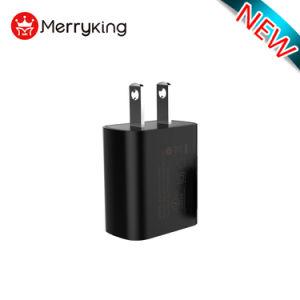 2018 Venta caliente solo USB 5V-3A QC3.0 Super Rápido pared Cargador de batería del teléfono móvil