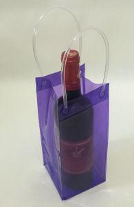 Nouveau design portable sac de plastique PVC pour le vin de glace