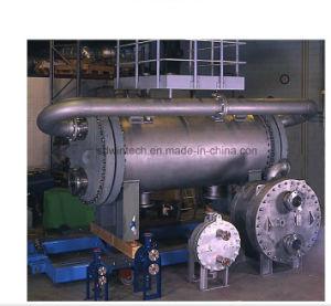 より高い温度および圧力労働条件に使用する版のあたりで溶接されるすべての円形の版そしてシェルの熱交換器
