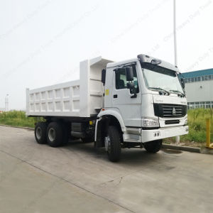 HOWO 6X4 30-50トンのRhd/LHDの真新しいダンプまたはダンプカートラック
