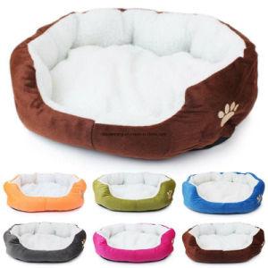 Ninho de cão de estimação macia cama Gato Cachorro Quente Velo House Canil Tapete de pelúcia mercadorias para os animais de estimação pequenos Cama Cão