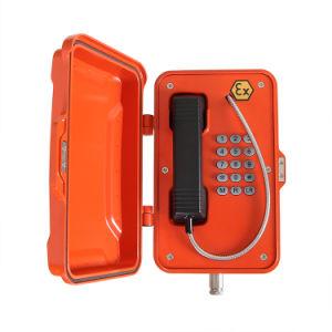 Сертификация ATEX аналоговых Взрывозащищенный телефон для опасных условий окружающей среды