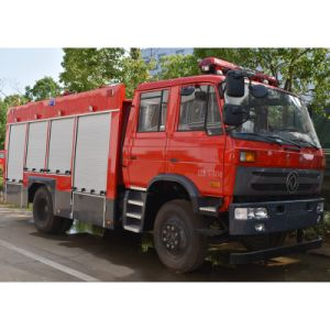 Vrachtwagen van de Noodsituatie van de Brandbestrijding van Dongfeng 6000L de BosMet de Vrachtwagen van de Brand van de Tank van het Water van 6cbm