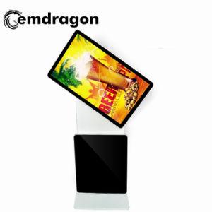 Der 32 Zoll-Fußboden-rastert der stehende Umdrehungs-Bus, der Spieler WiFi 3G androider PClcd-vertikale videowand für Apotheke-Digital-Anzeige Speicher-bekanntmacht, LCD Digital
