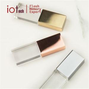 Пользовательские фотографии подарок хрустальное стекло диск USB флэш-памяти Memory Stick™