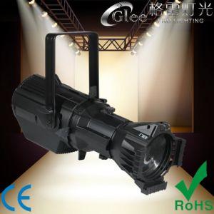200W 3200K LED blanco cálido elipsoidal Perfil Foco teatral