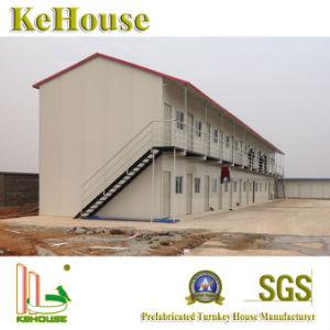 居間のためのJeddaの構造スチールの製造の現代プレハブの家