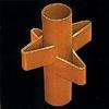 Kwikstage andamio de la construcción de la estructura de acero