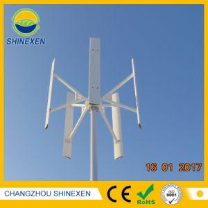 Generatore verticale senza spazzola di energia eolica di asse di CA 2kw 48V/96V Vawt
