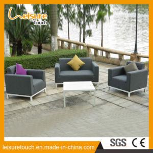 Nuevo diseño de muebles de exterior Patio y jardín de la tapicería de tela exterior sofá