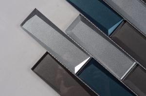 De decoratieve punten gemengde tegels van het mozaïek van het glas