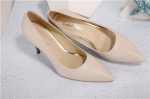 Nuevo estilo Damas Zapatos de Tacón plegable