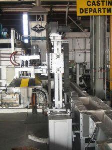 L'aluminium liquide l'Unité de dégazage