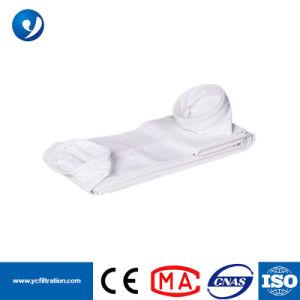 Sacchetto filtro della polvere del poliestere con la bruciacchiatura e la calandratura