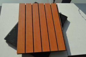 Acústica ranurado MGO perforado el panel de pared decorativos