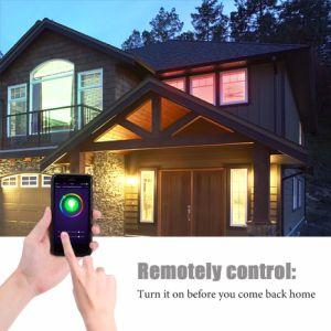 Lohas WiFi intelligente helle Kristallarbeit mit Farbe der Amazonas-Alexa, die APP/Smartphone esteuerte Deckenleuchte ändert