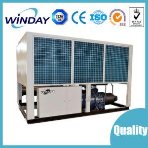 O condicionador de ar de parafuso arrefecidos a ar do chiller e bomba de calor para Uso Industrial R134A Fábrica do chiller do refrigerador do compressor