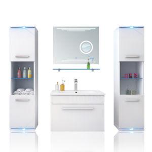 新しい到着の多くのの浮遊浴室の家具の贅沢な虚栄心引出しHS-E1901