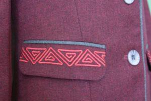 Customized Respirabilidade Fashion uniforme da escola para as meninas