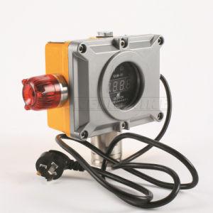 24V DC Wall-Mounted nº2 Detector de gás com visor LED de alarme de vibração Acousto-Optic