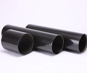 100 % de contenu personnalisé avec tube en fibre de carbone 3K