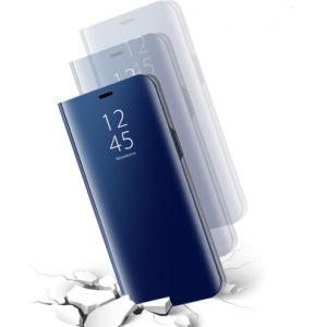 Rétroviseur de luxe Sinbeda clair cas pour Huawei P Smart P20 PRO à rabat en cuir pour Huawei Stand cas P9 P10 Plus P20 Lite cas