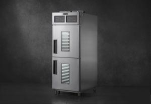 La mejor calidad precio de fábrica de máquinas de panadería dos salas de fermentación Proofer retardador