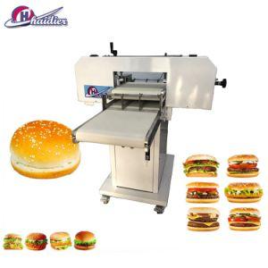 Pain Hamburger de découpe automatique Slicer Machine