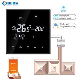 WiFi semanalmente por suelo radiante la calefacción de agua el termostato programable