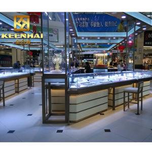 Из нержавеющей стали Custom-Made Keenhai+очистить стекло витрин ювелирного дела