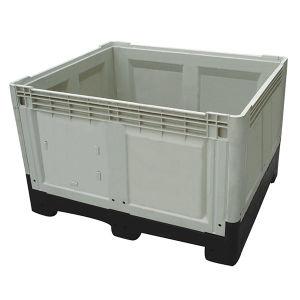1200*1000*810 Caixa de paletes de armazenamento de contêiner plástico dobrável