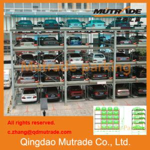 Estructura de estacionamiento de acero para estacionamiento público