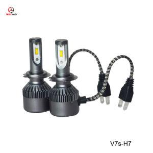 Venta directa de fábrica de coches de alta potencia LED la bombilla del faro de luces de proyector para el coche 4500LM
