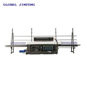 Jfe-9243 9 Motors PLC polisseuse en verre de bord en ligne droite de la machinerie de broyage de verre