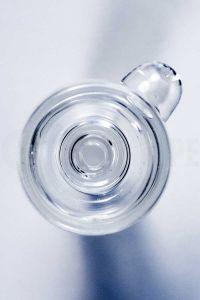 Varón de 14 mm el tazón de vidrio para pipa