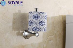 Houder van het Toiletpapier van het messing de Extra met Geplateerd Chroom (sy-6956)