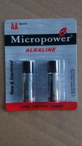Batteria a secco alcalina di formato di potere eccellente aa