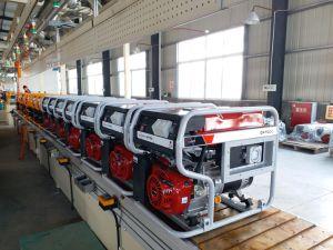 Generator de Van uitstekende kwaliteit van de Benzine van de Benzine van Fusinda, de Op zwaar werk berekende Generator van de Benzine voor Plaats Contruction, Enig en In drie stadia