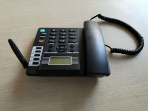 GSM 850/900/1800/1900 Wireless Telefone do escritório com o cartão SIM (saída de fábrica)
