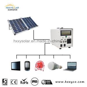 Sistema di illuminazione domestico di energia solare per dell'interno o il campeggio, generatore solare, sistema di energia solare