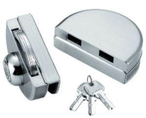 Double blocage en verre de porte coulissante fait d'acier inoxydable (FS-222)