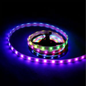 tira endereçável do diodo emissor de luz do RGB da cor ideal de 5V 5050 SMD