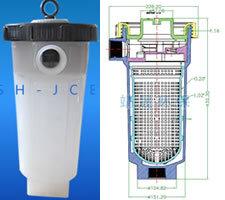 Mini Bolsa de material PP- La caja del filtro filtro de naves industriales