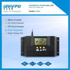 30Un controlador de carga solar para uso doméstico con pantalla LCD, CE, RoHS