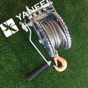 argano della mano della corda del filo di acciaio 800kgs per alzare