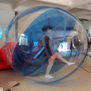 Надувной мяч Zorb можно дойти пешком за Водный парк