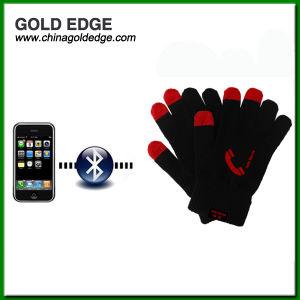 Высокое качество рождественских подарков трикотажные перчатки Bluetooth с сенсорным экраном телефонной трубки